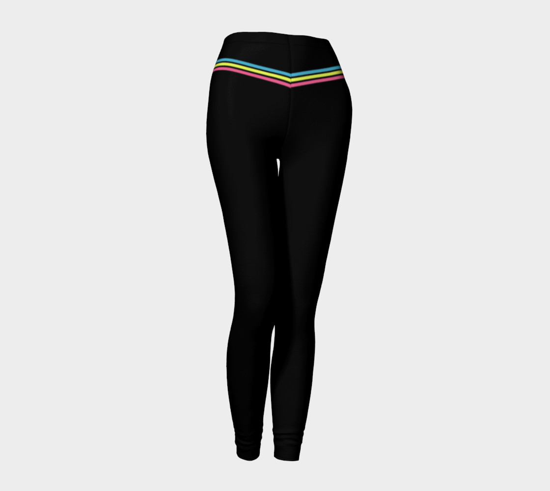 Pastel Stripes Leggings preview #1