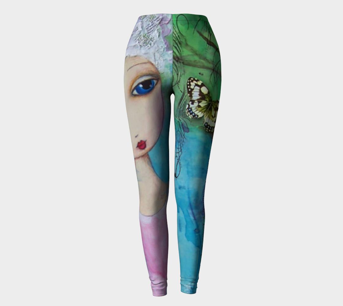 Oh Marie! Art Wear Leggings by Danita Lyn preview #2