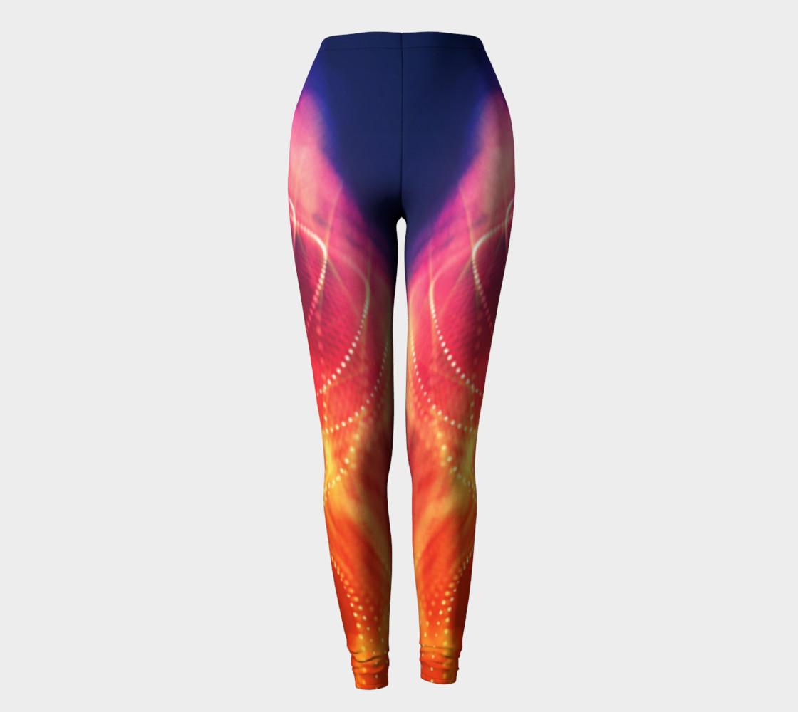 Starlite Swirl Leggings by Danita Lyn preview #2
