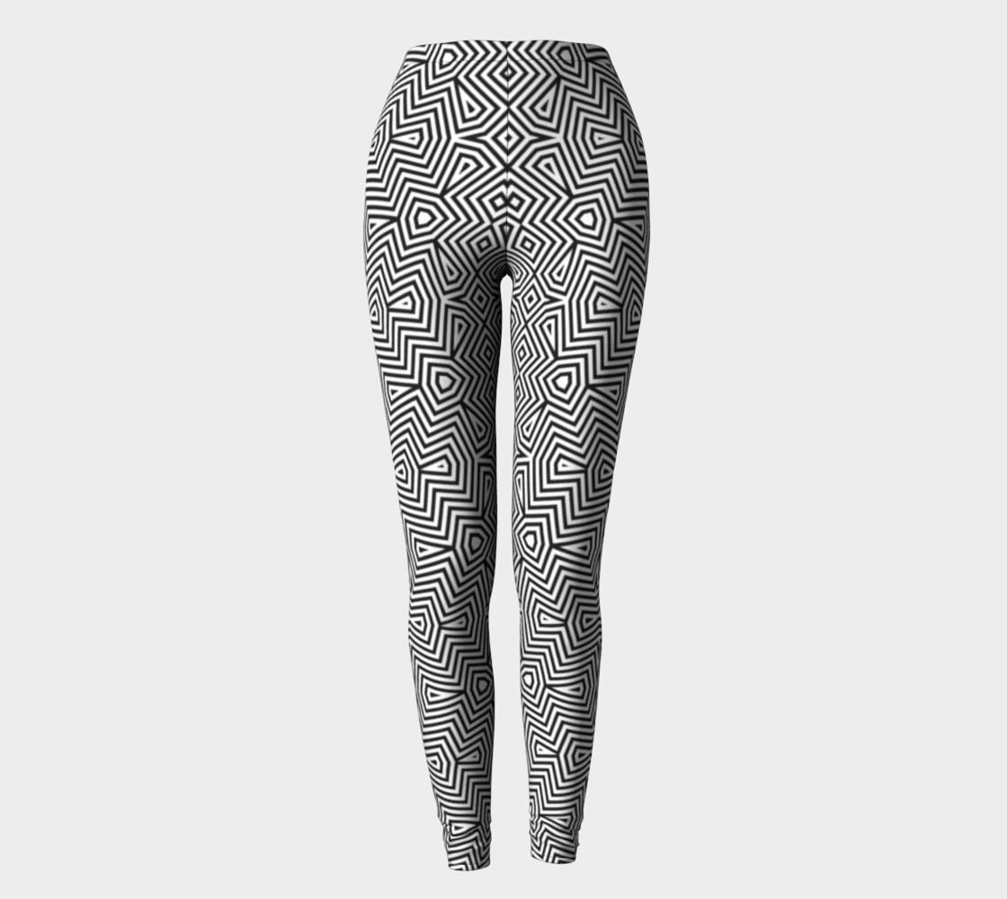 Aperçu de Optical art monochrome pattern #2