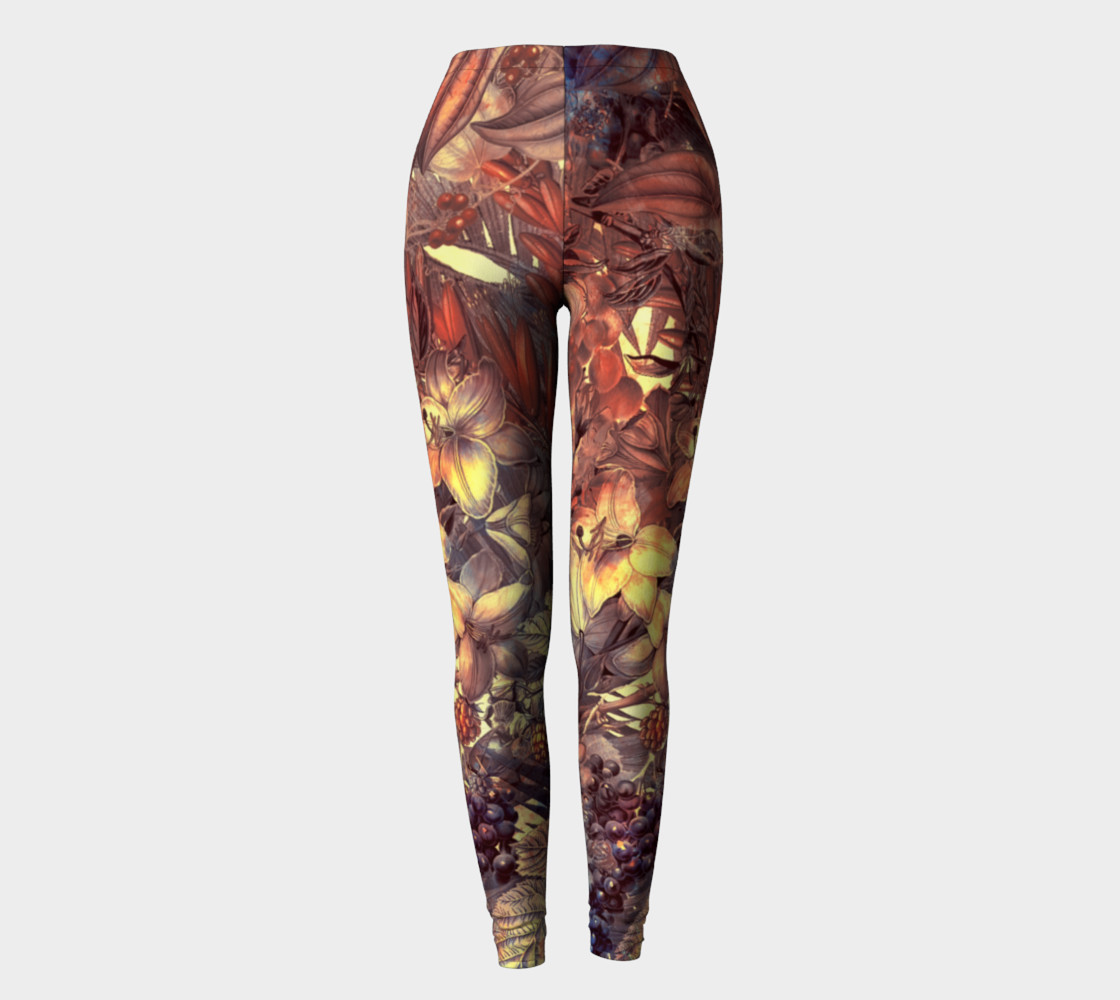 leggings magic flowers preview #2