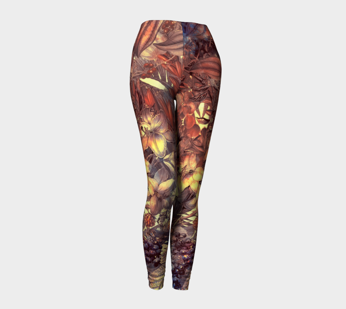 leggings magic flowers preview #1