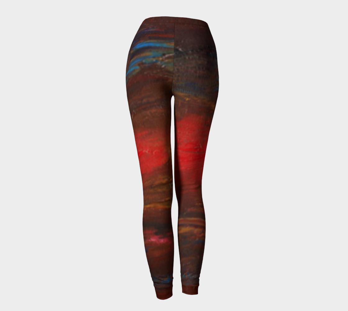 Crimson Ocean Leggings preview #4