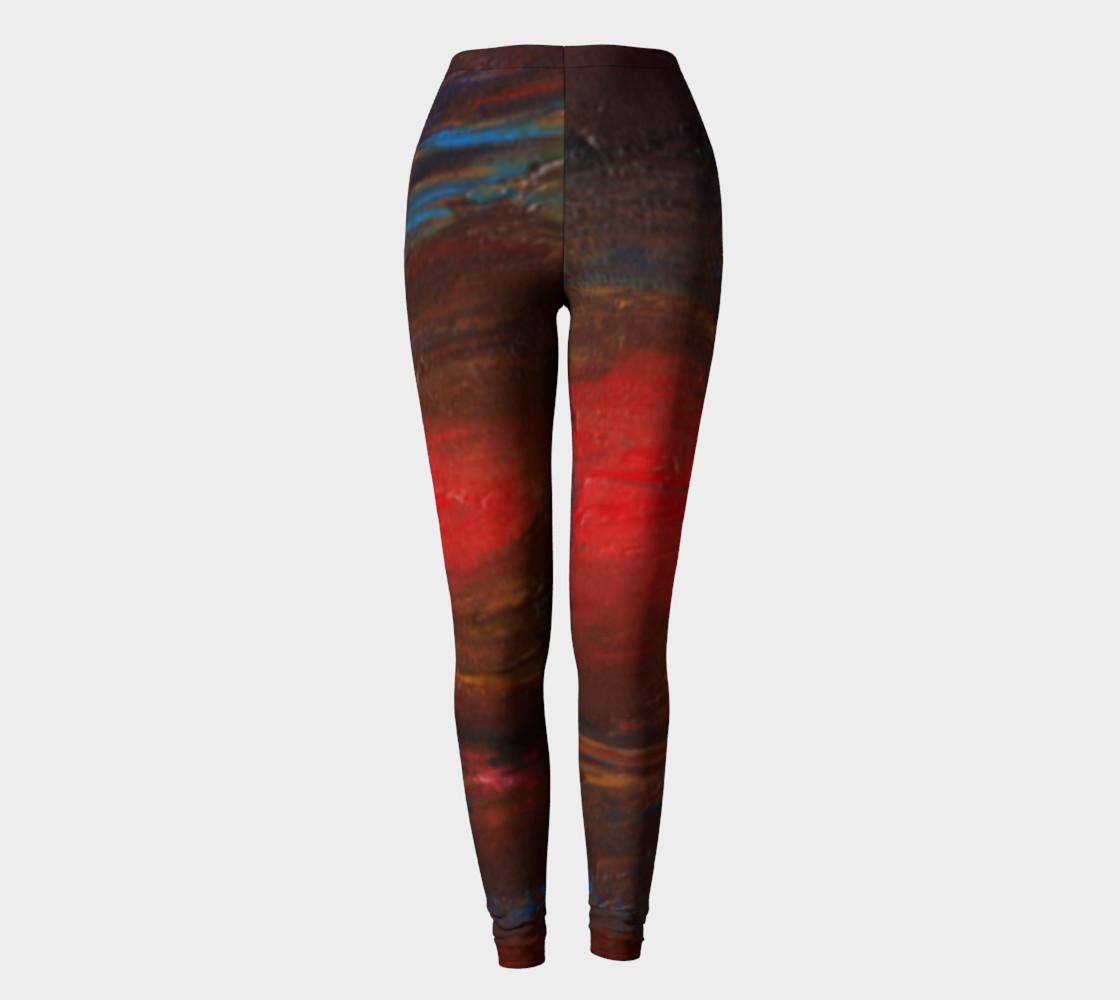 Crimson Ocean Leggings preview #2