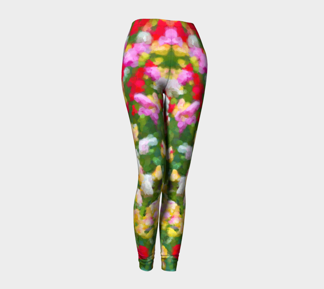 Painted Tulips Leggings preview #1