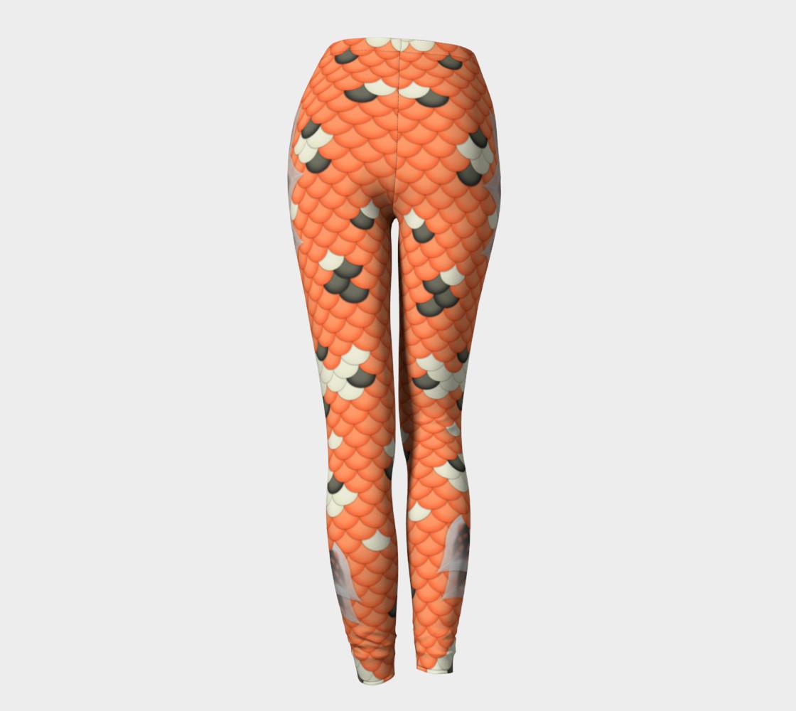 Koi Mermaid Leggings preview #4