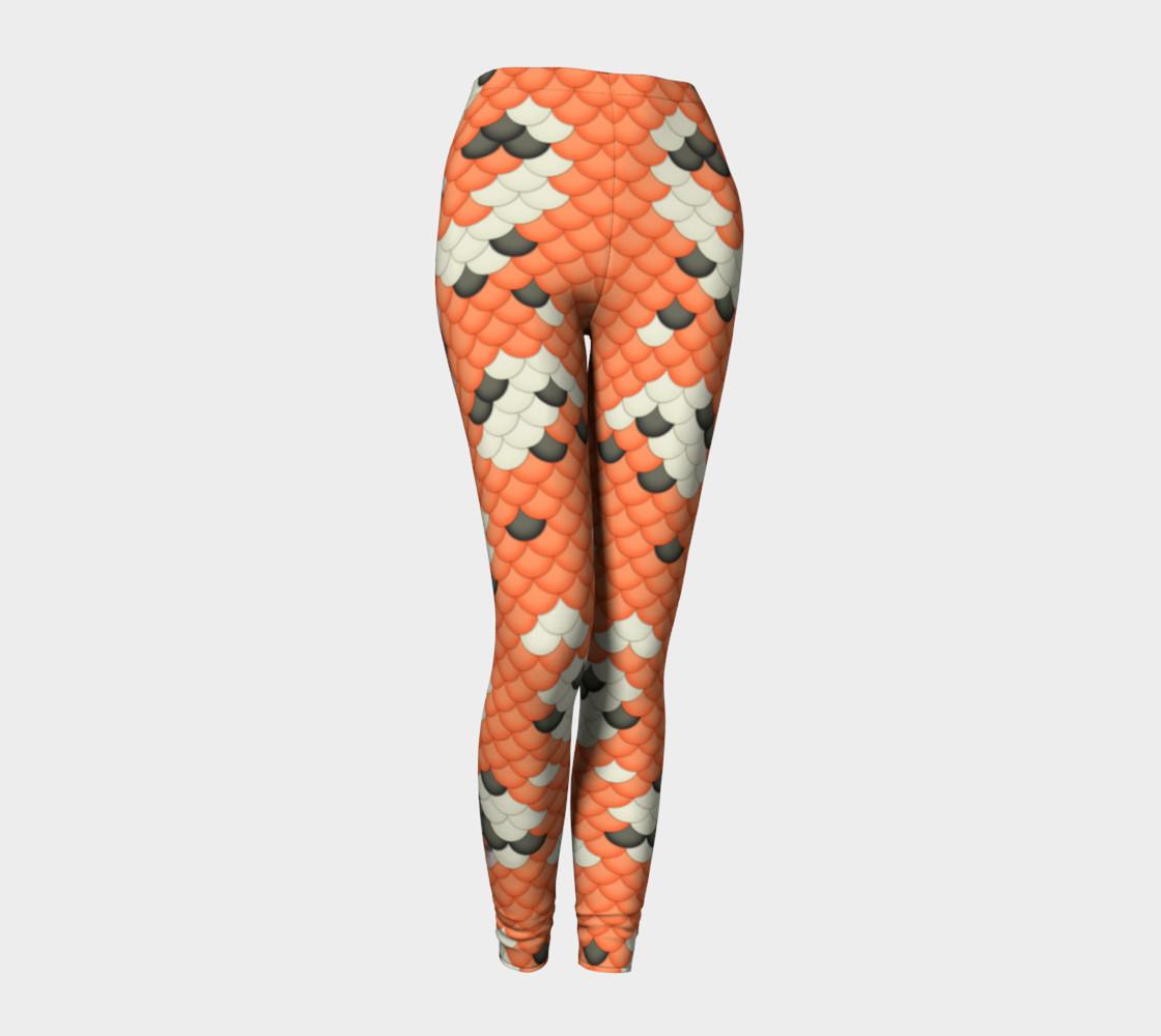 Koi Mermaid Leggings preview #1