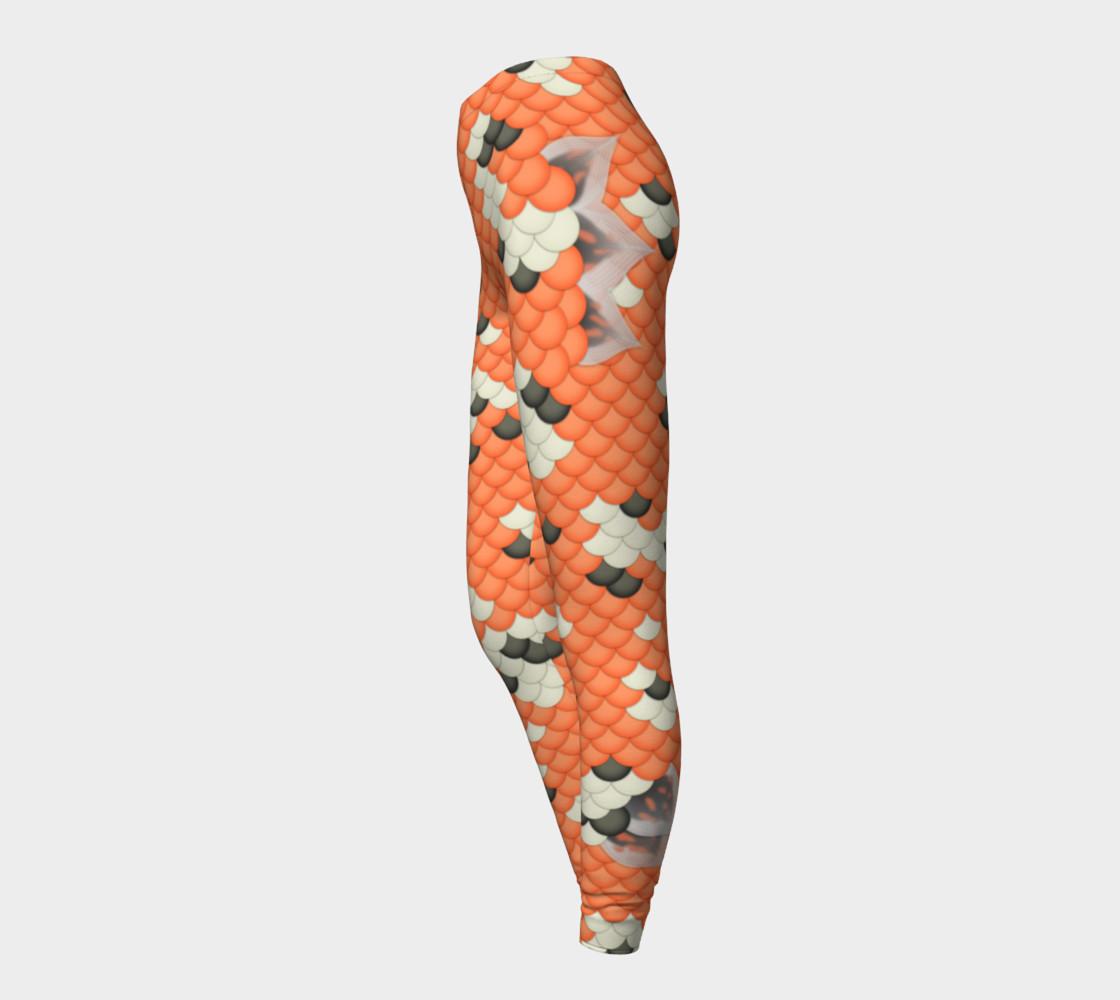 Koi Mermaid Leggings preview #3
