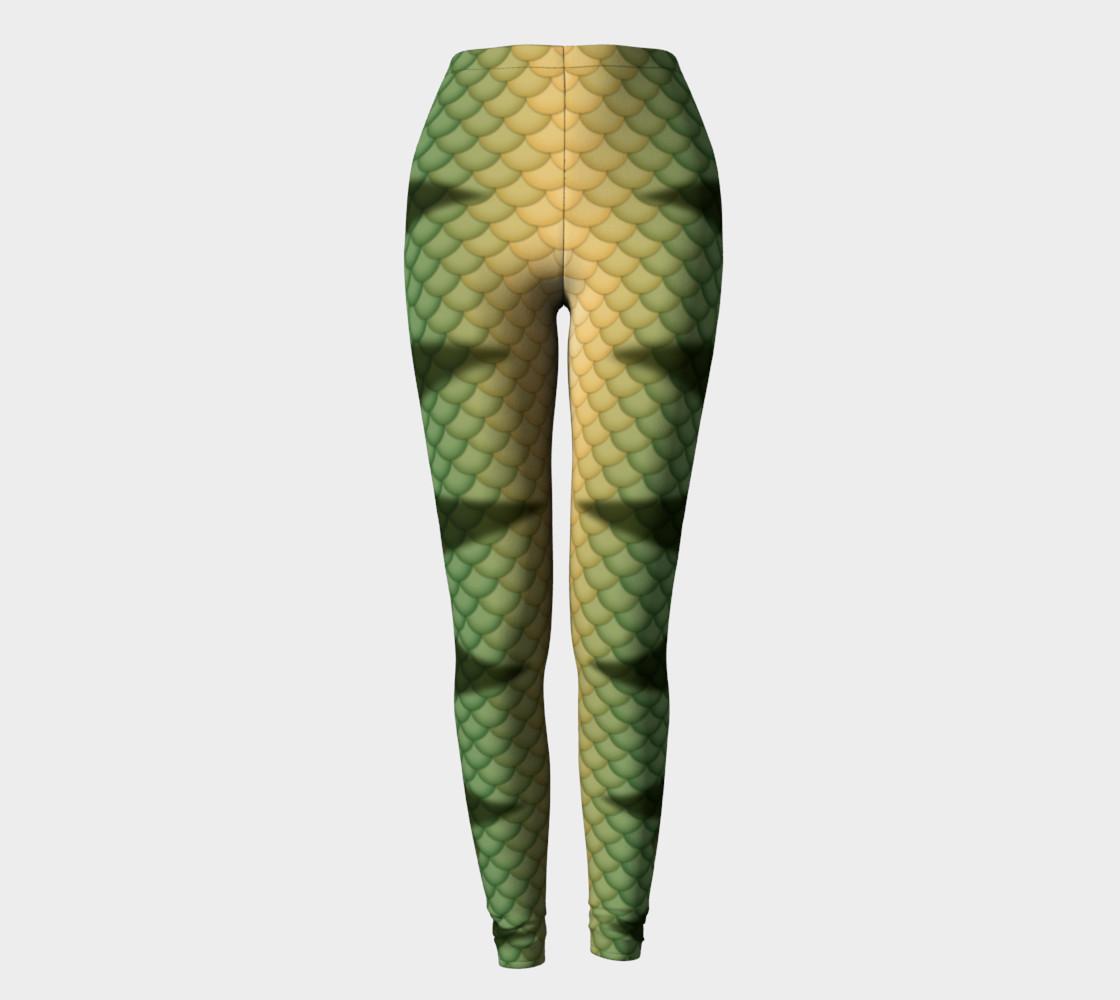 Perch Mermaid Leggings preview #2