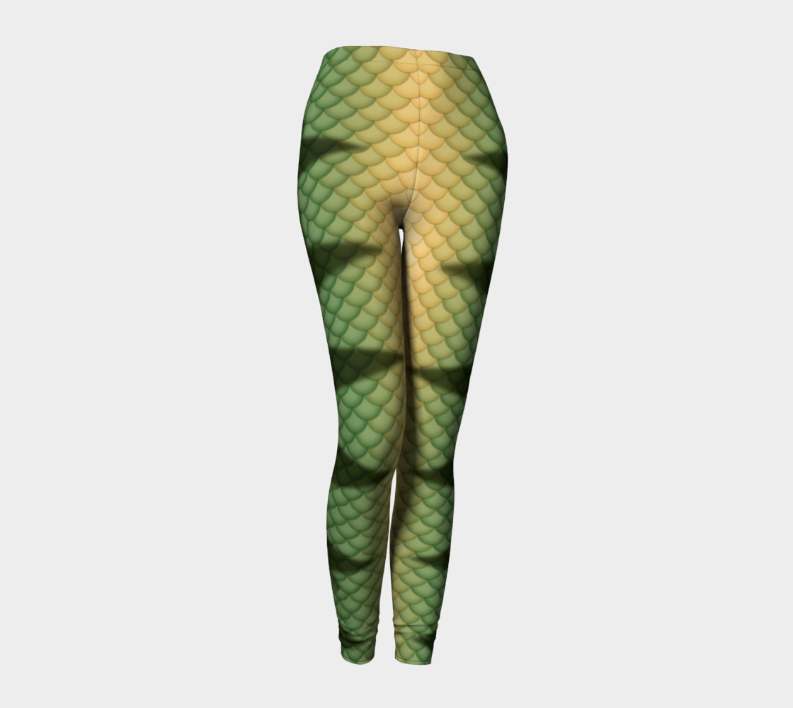Perch Mermaid Leggings preview #1