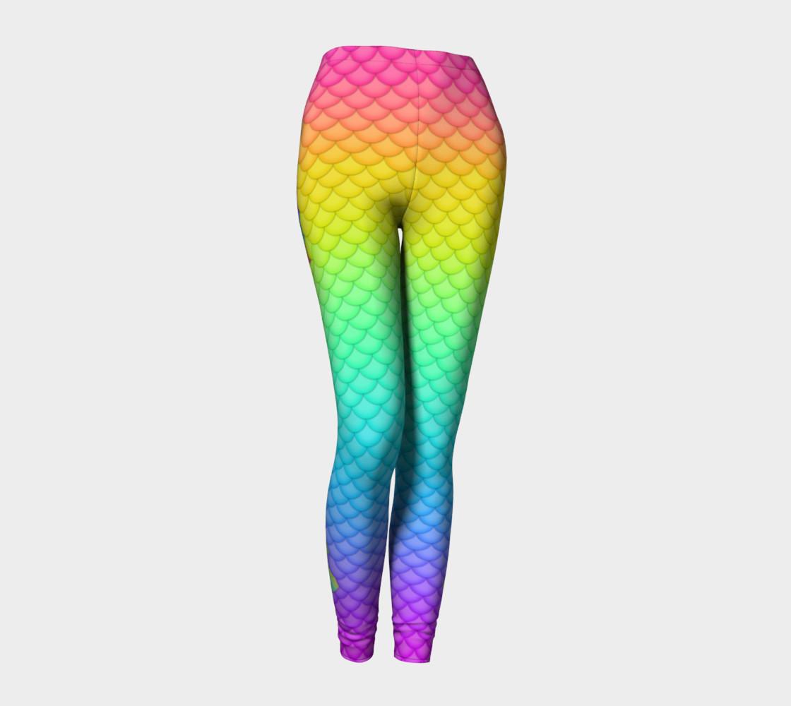 Neon Mermaid Leggings preview #1