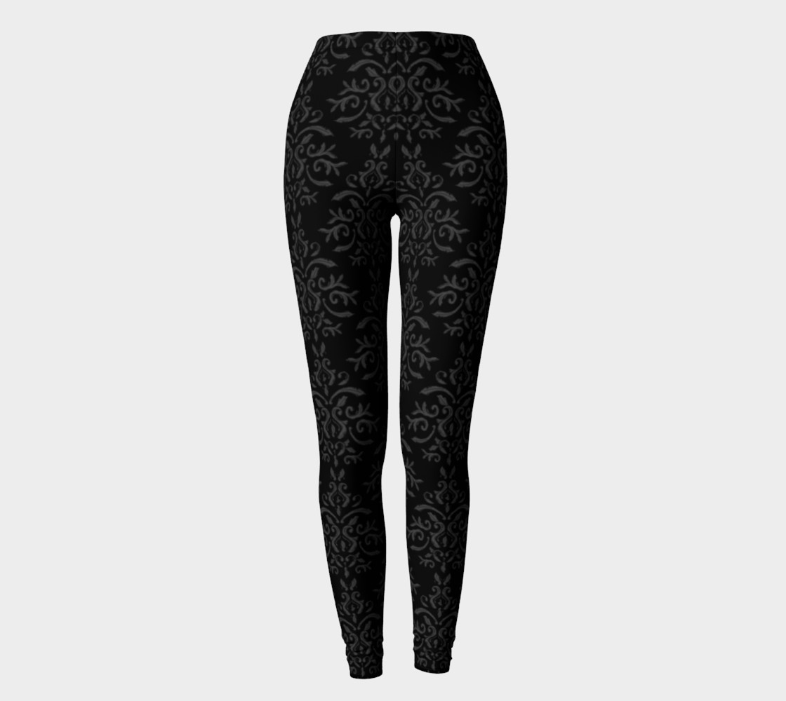 Black Damask French Goth preview #2