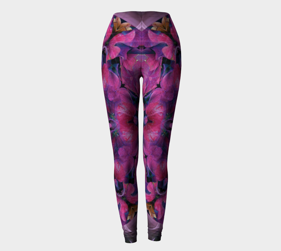 Hydrangea Leggings preview #2