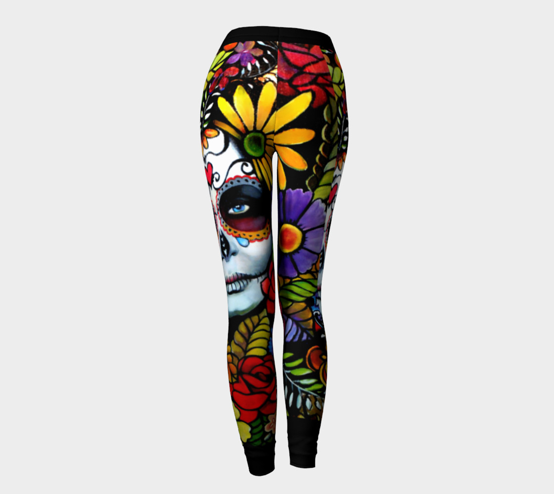 Day of the Dead 2.0 Leggings preview #4