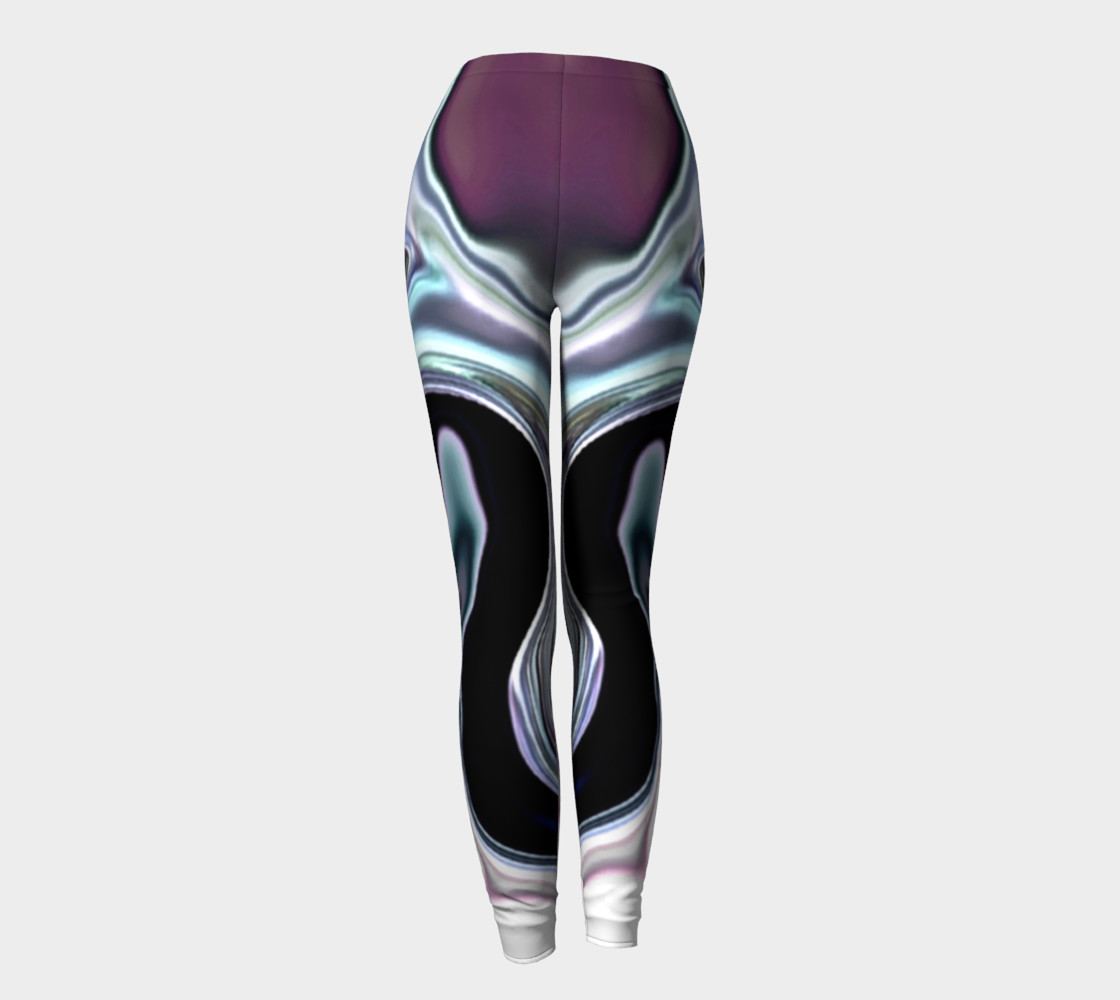 abalone abstract leggings preview #4