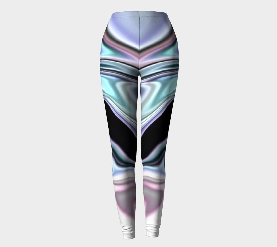 abalone abstract leggings preview #2
