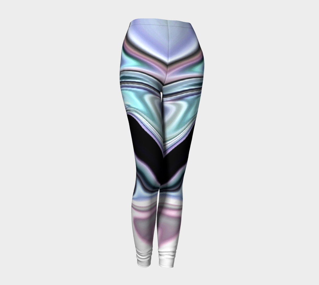 Aperçu de abalone abstract leggings #1