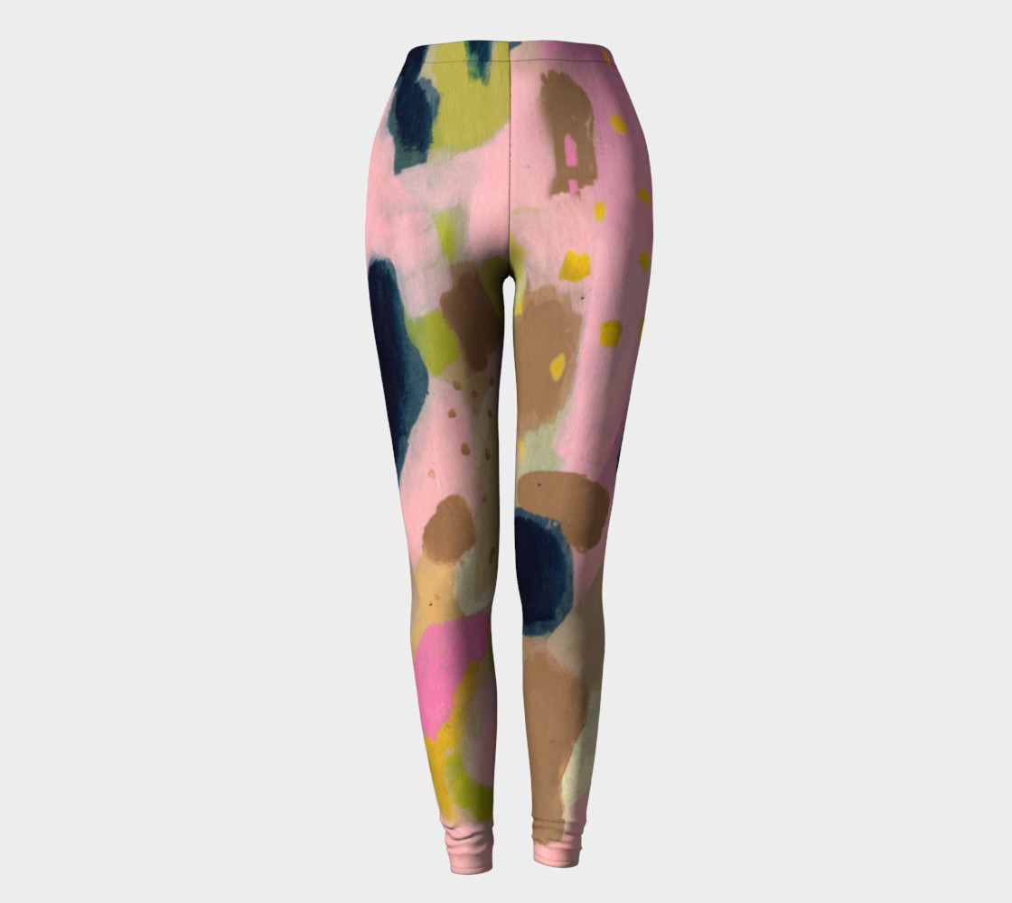Mystery Floats Back Artists Leggings preview #2