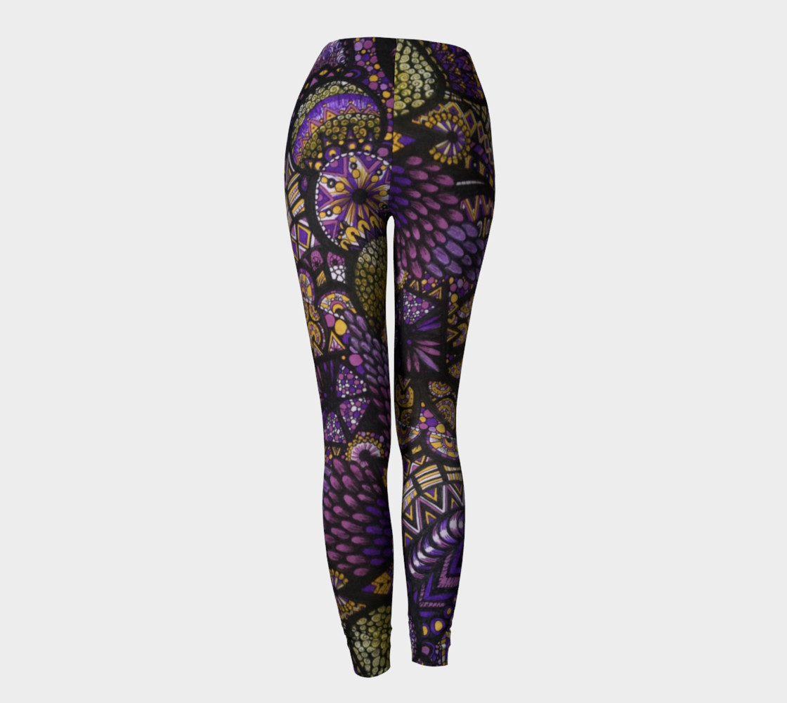 Purple Madness Leggings Part I preview #4