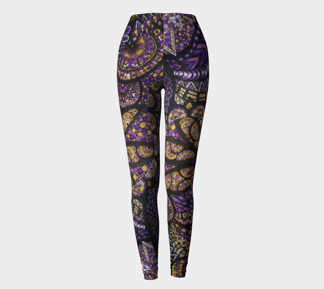 Purple Madness Leggings Part I preview #2