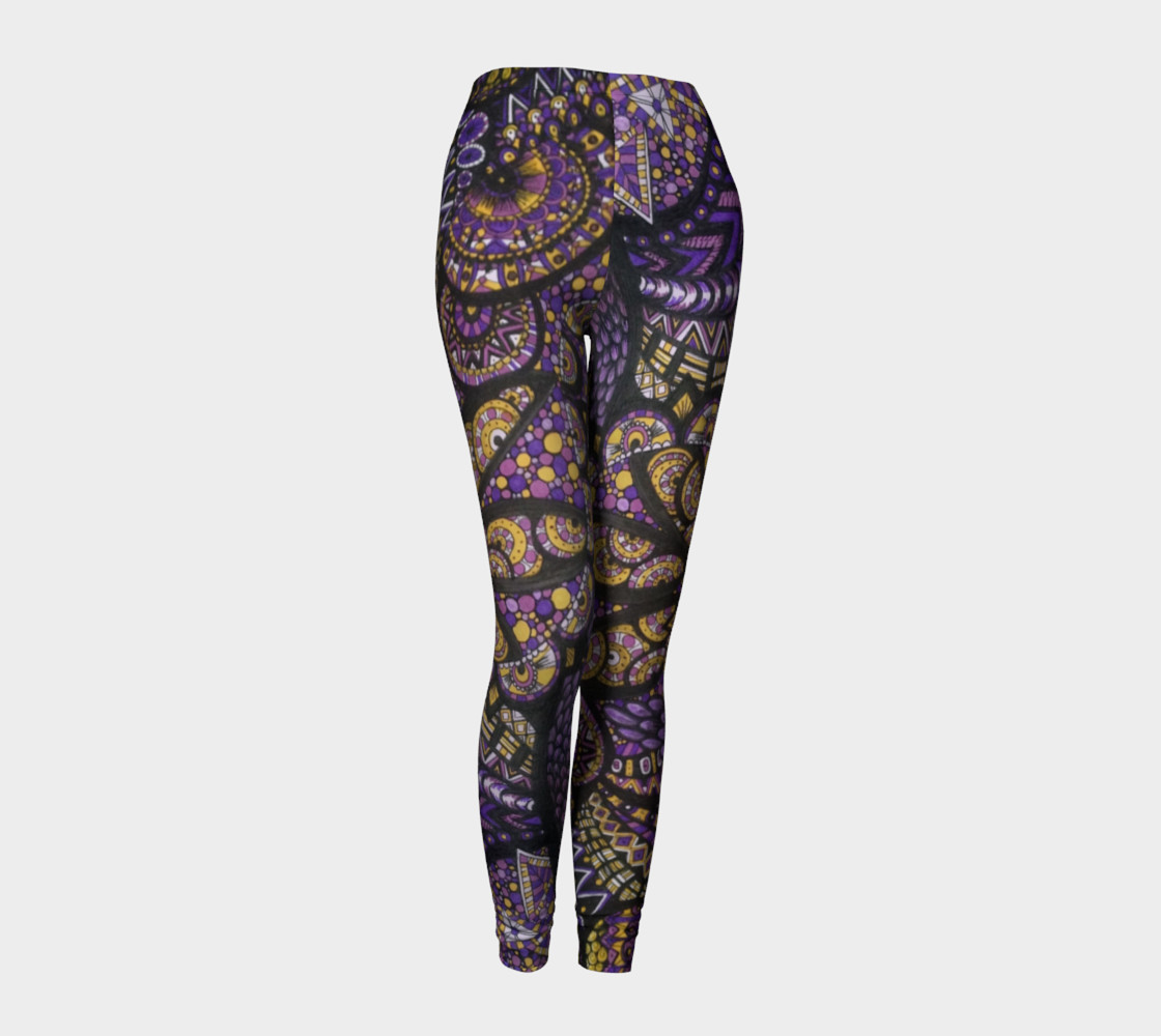 Purple Madness Leggings Part I preview #1