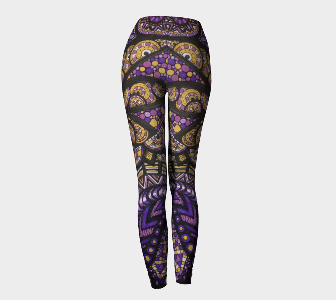 Purple Madness Leggings Part II preview #4