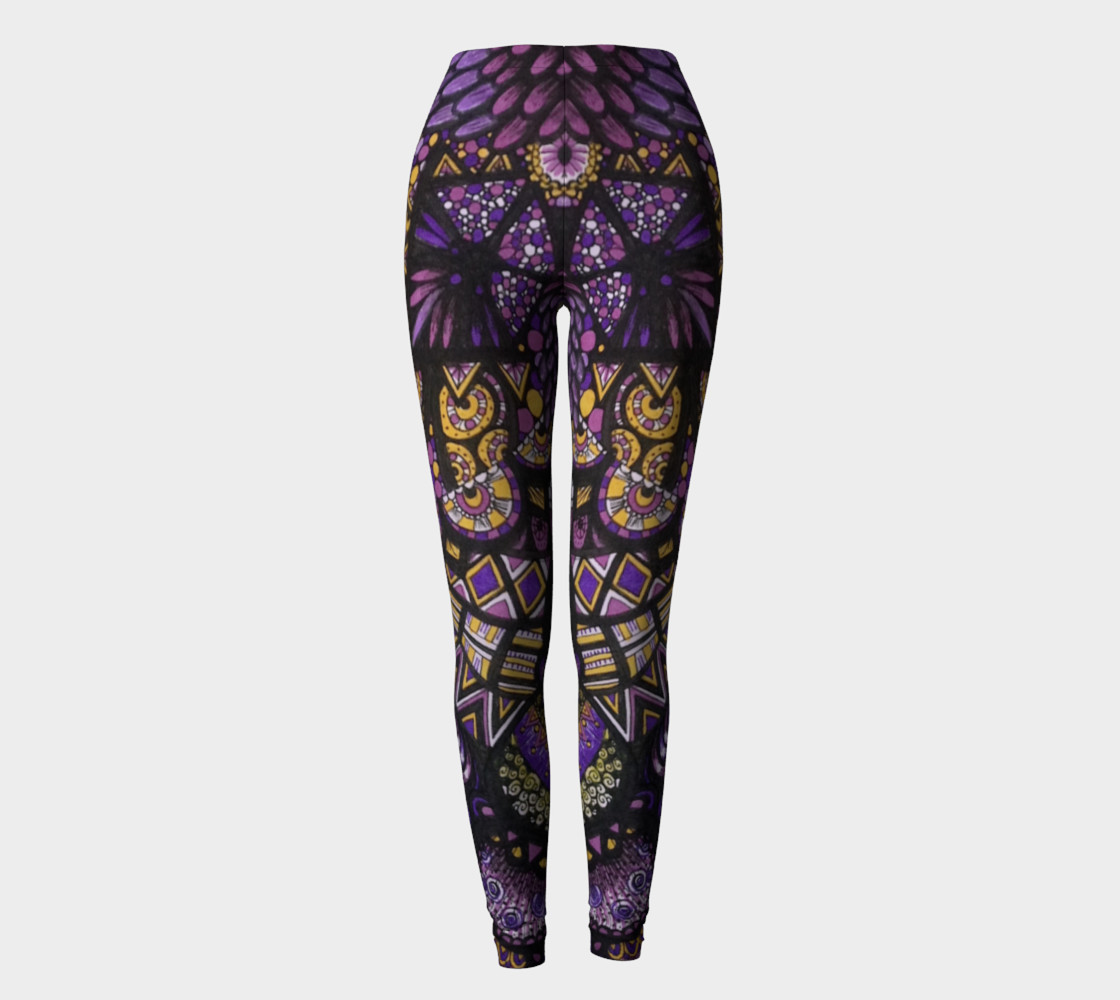 Purple Madness Leggings Part II preview #2