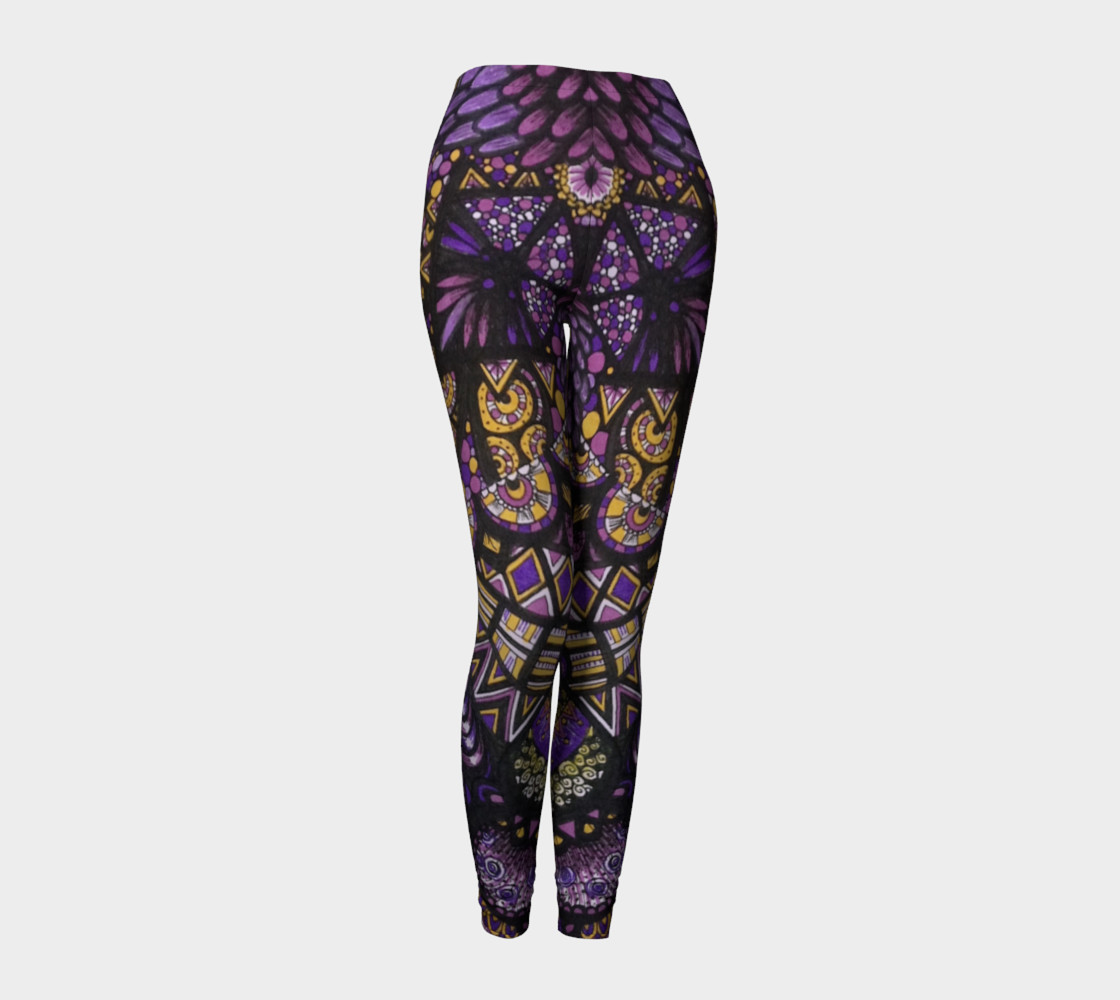 Purple Madness Leggings Part II preview #1