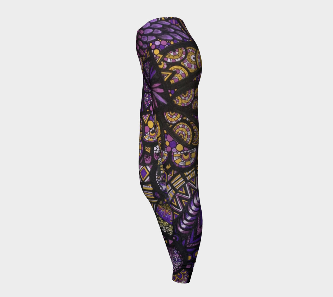 Purple Madness Leggings Part II preview #3