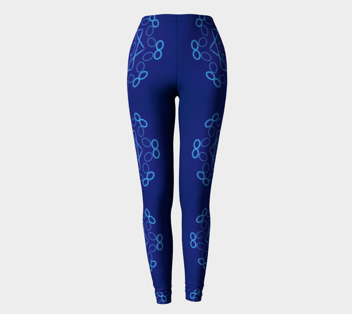 Shades of Blue Leggings preview #2