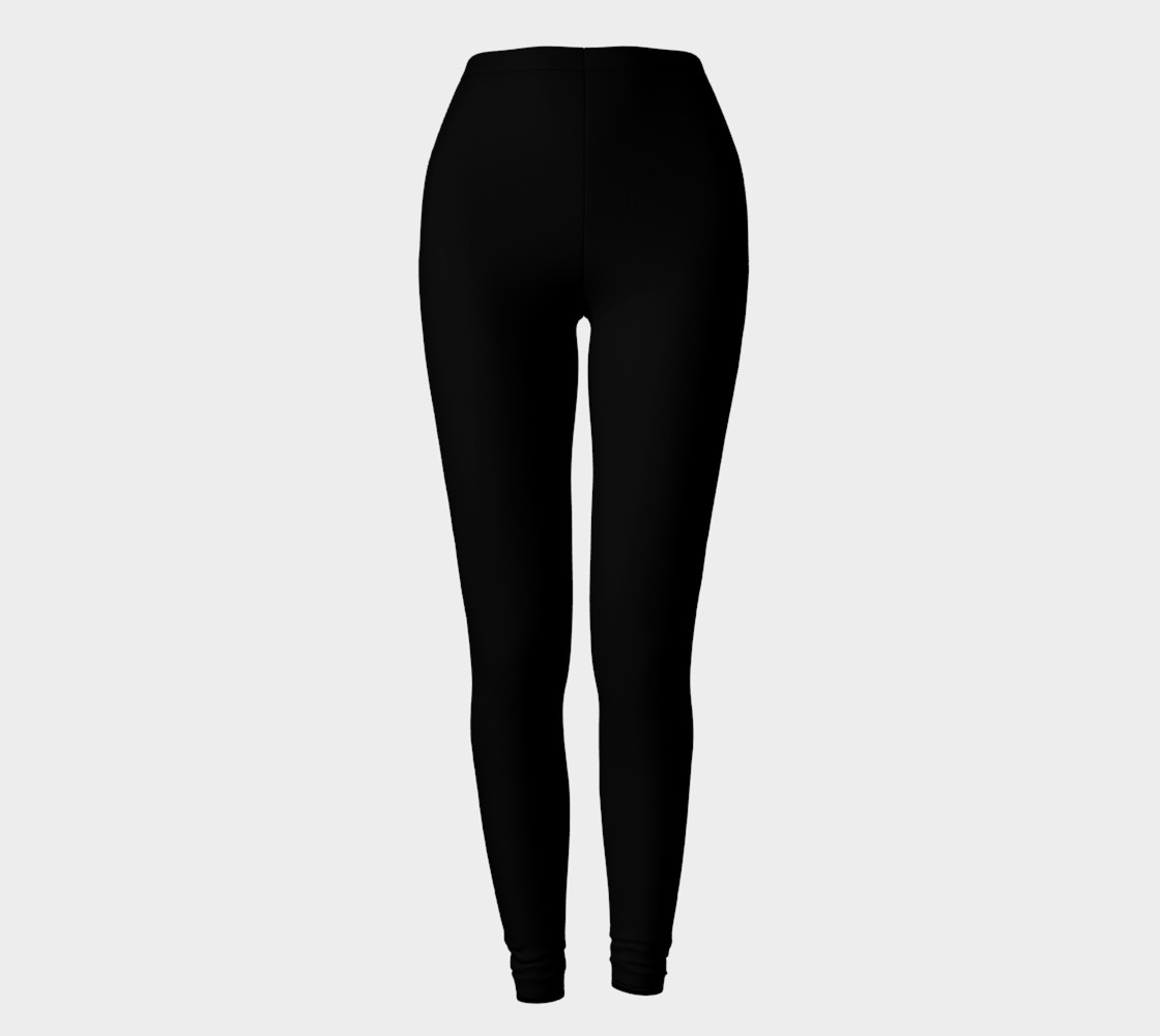 Black as Night Sky Leggings preview #2