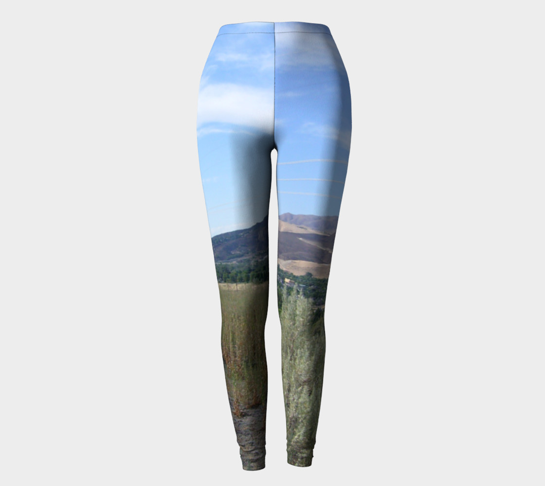View of the Valley urban photography leggings preview #2