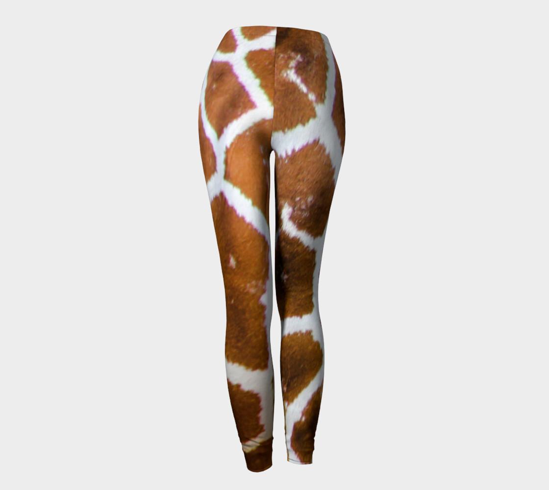 True Giraffe fur pattern leggings preview #4