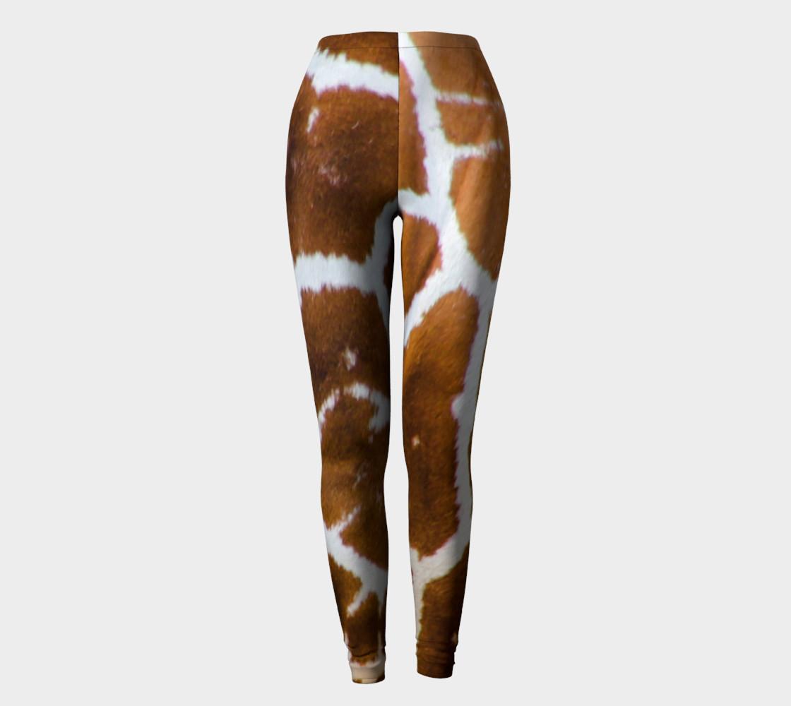 True Giraffe fur pattern leggings preview #2