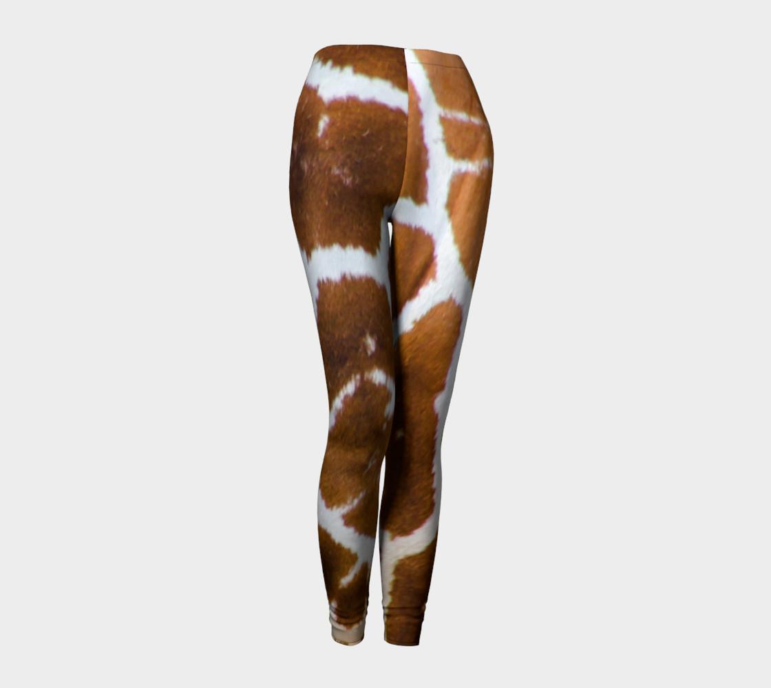 True Giraffe fur pattern leggings preview #1