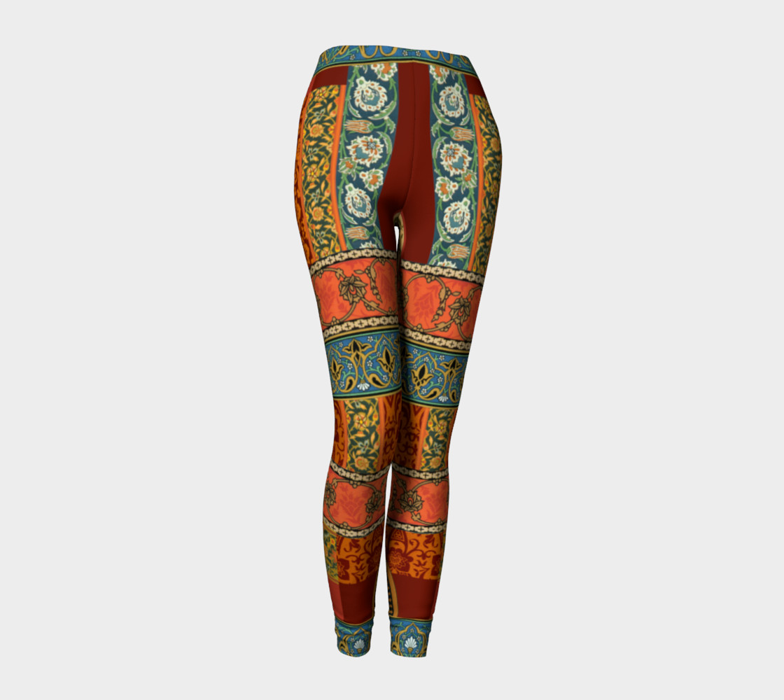 Historic Folkloric Leggings 3D preview