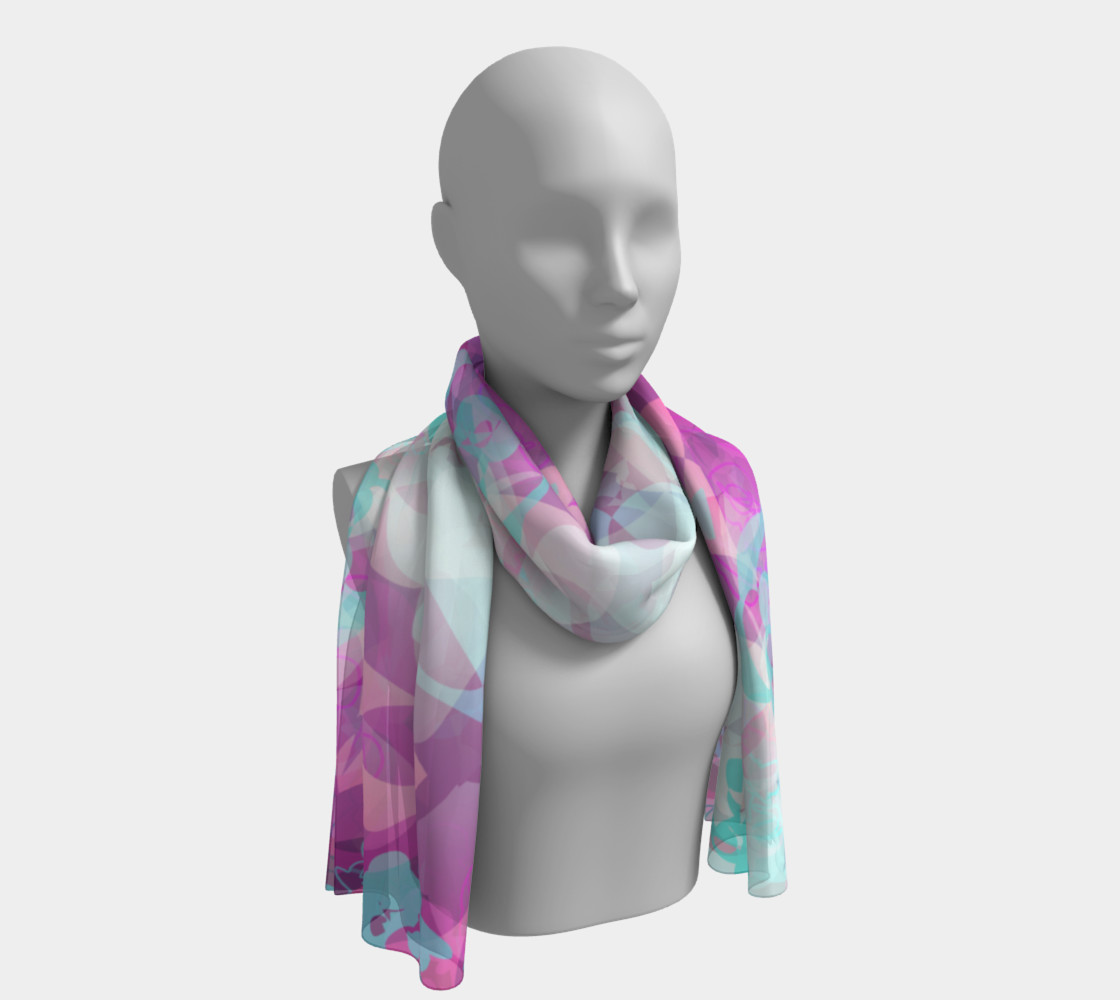 Floral Scarf preview #1