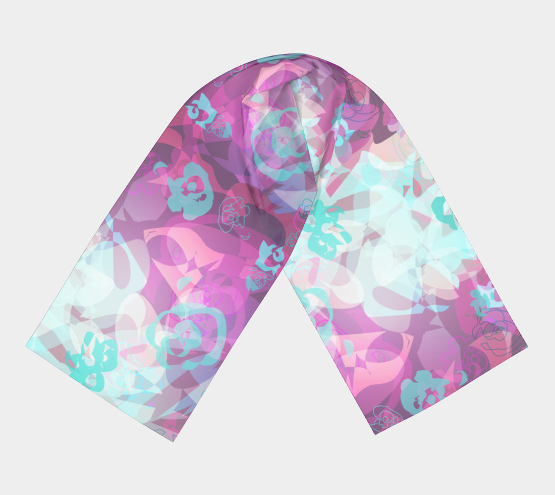 Floral Scarf preview #3