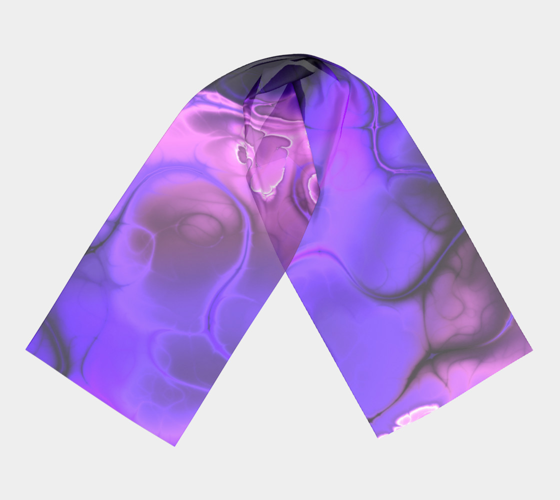Colourful Fractal Art in Blues, Purples and Pinks preview #3