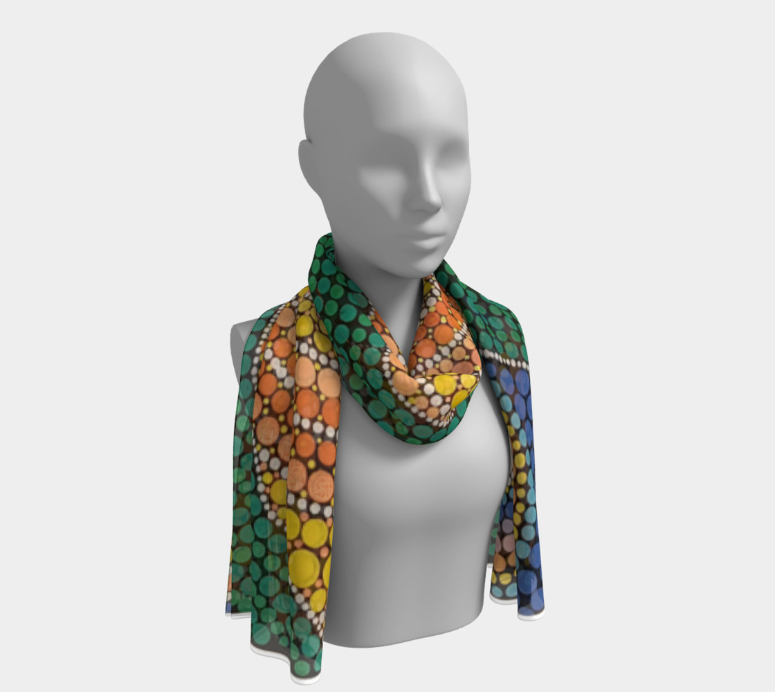 Sunrise Long Scarf preview #1
