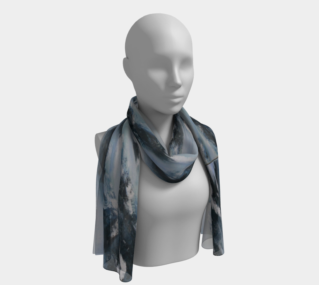 arctic chill long scarf 2 preview #1