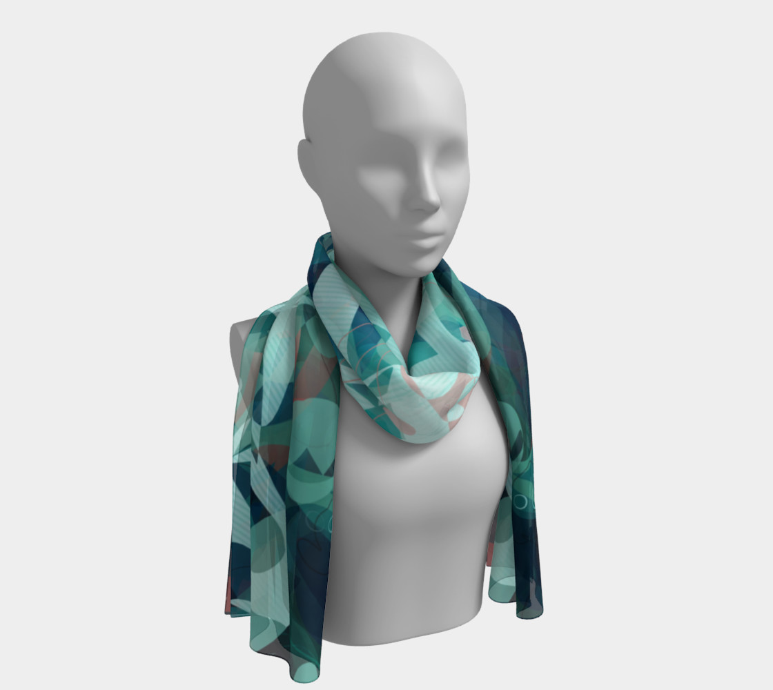 Tealin'it Scarf preview #1