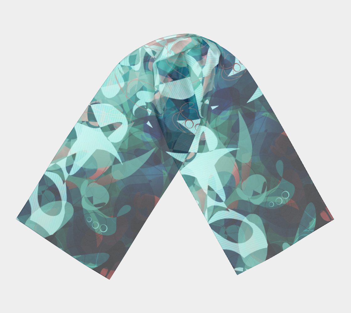 Tealin'it Scarf preview #3