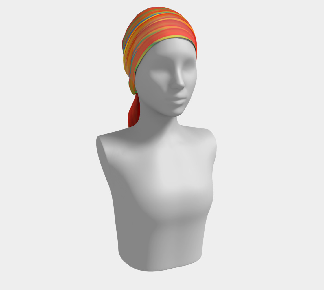 CHAKRAS silk scarf preview #2