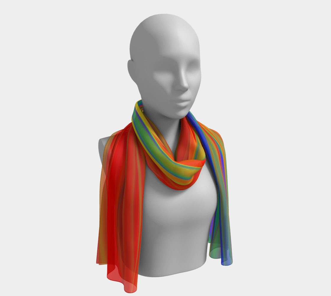 CHAKRAS silk scarf preview #1