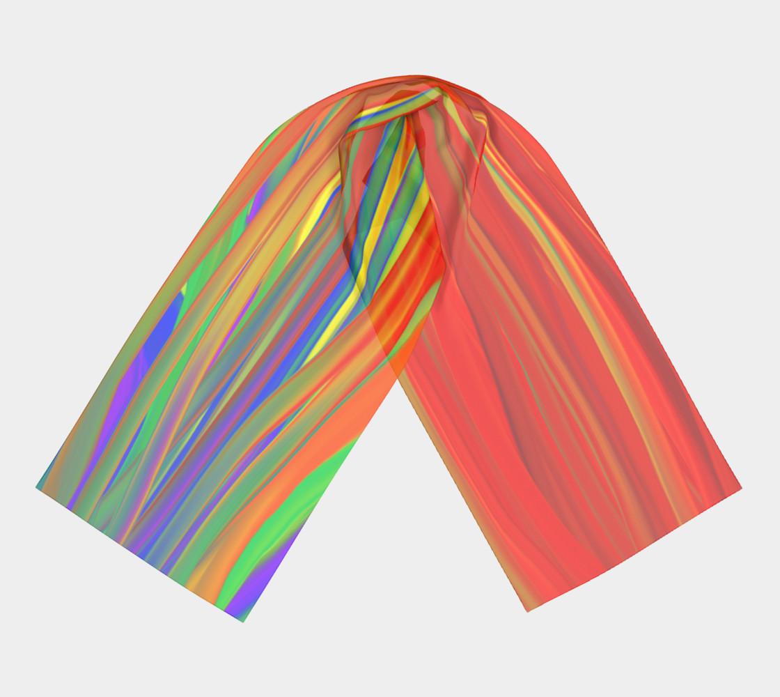 CHAKRAS silk scarf preview #3