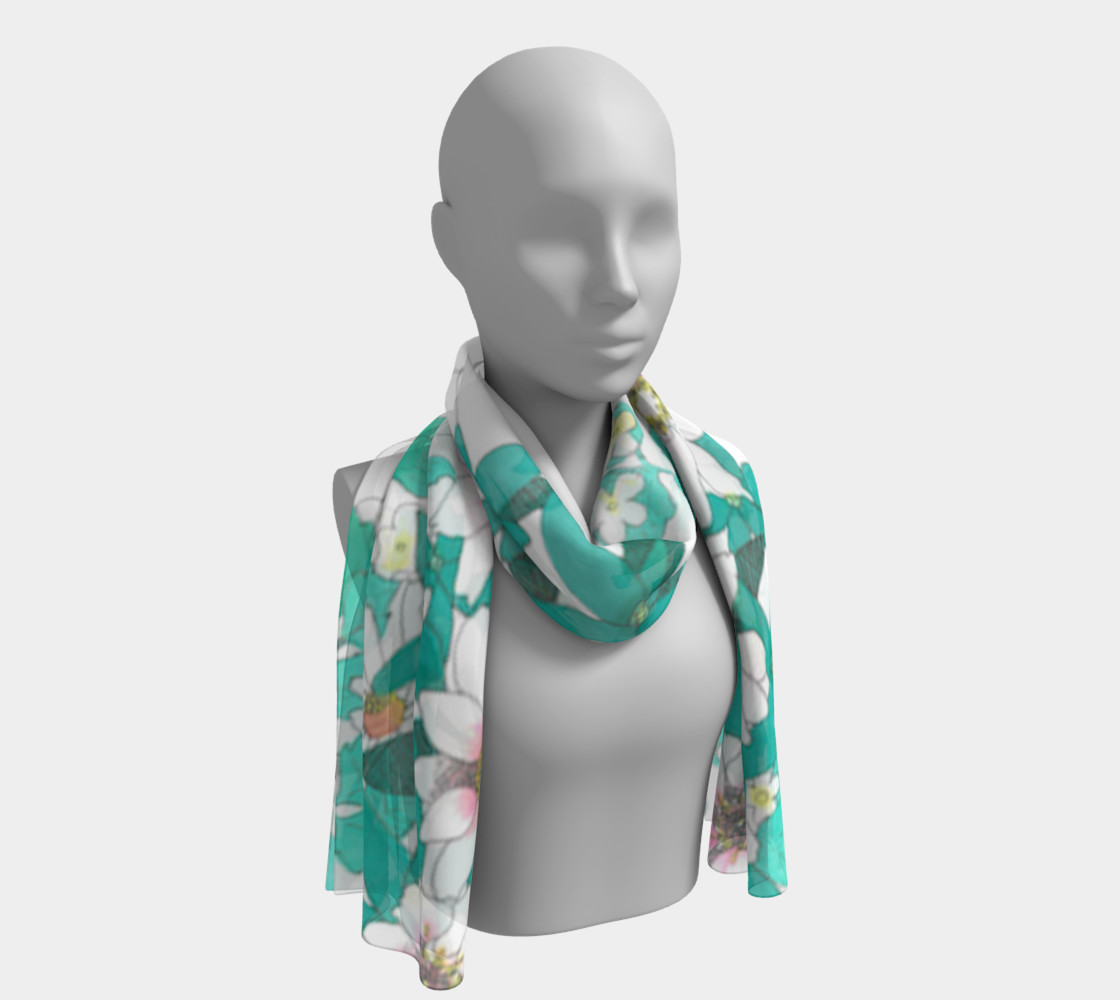 Tropical Summer Long Scarf preview #1