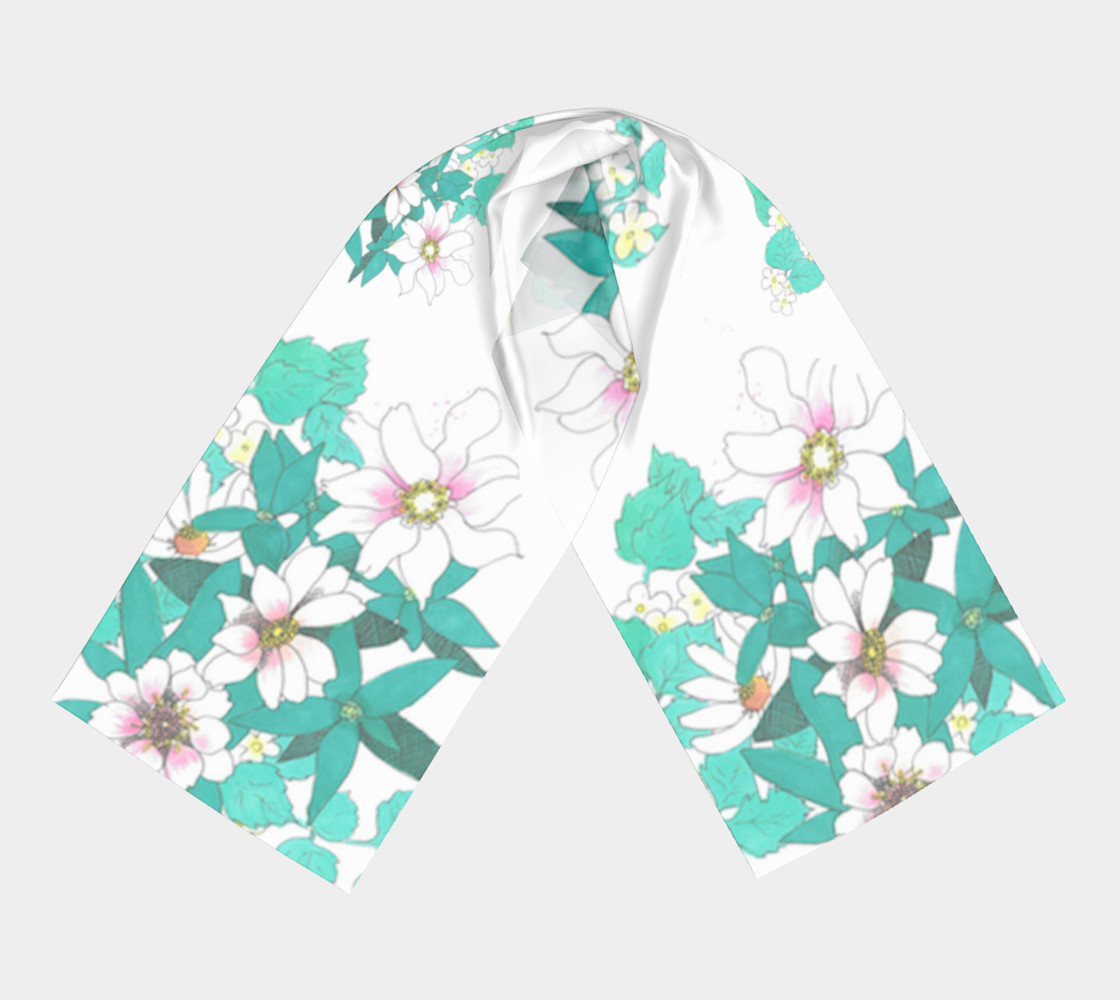 Tropical Summer Long Scarf preview #3