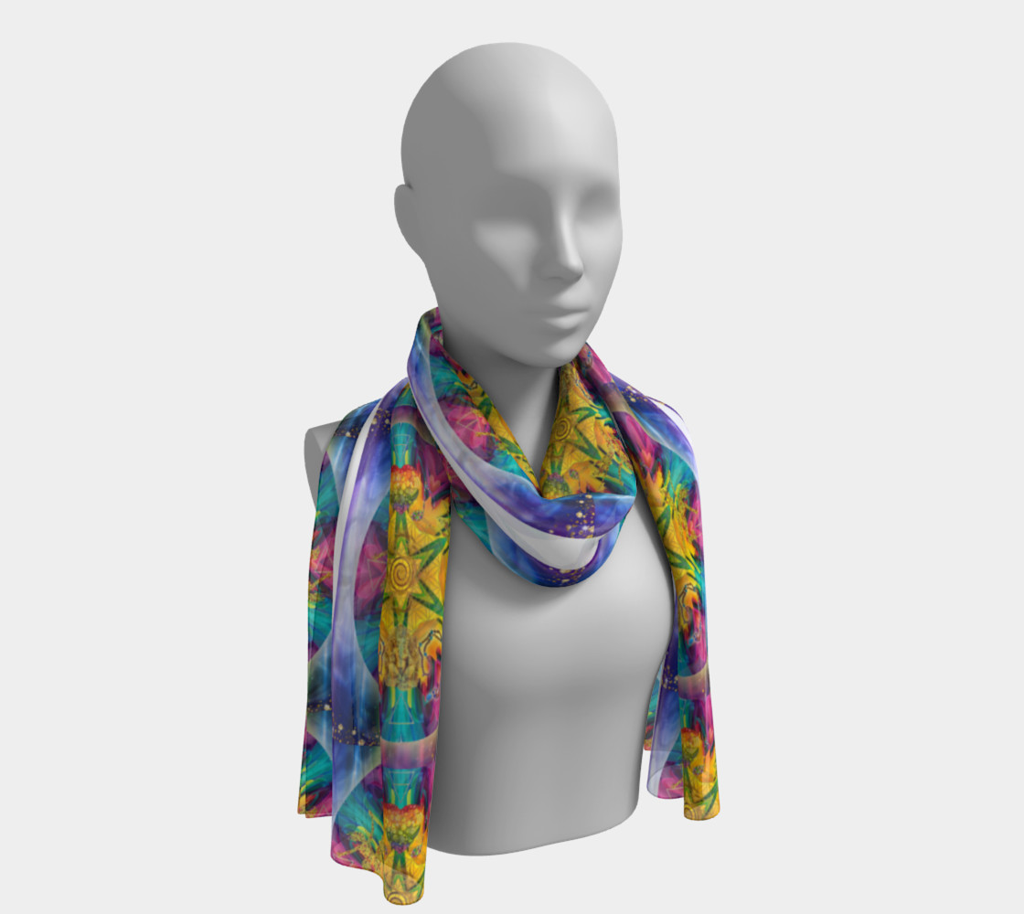 Harmonics Of Your Soul Long Scarf preview #1
