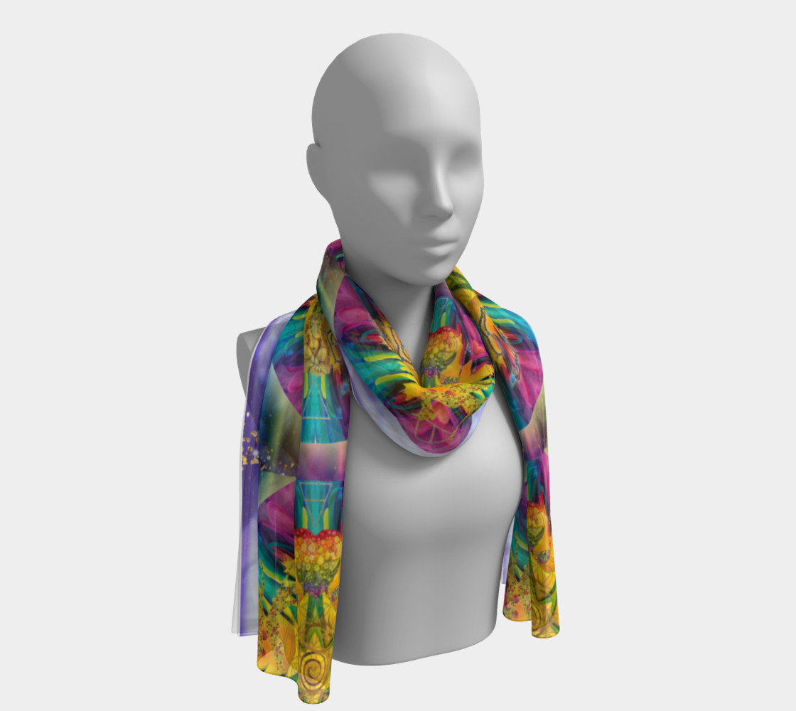 Harmonics Of Your Soul Long Scarf 2 preview #1